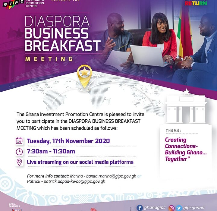 First Diaspora Business Breakfast