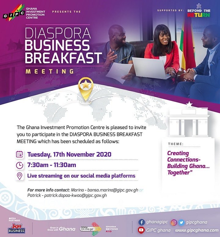First Diaspora Business Breakfast
